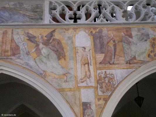 Detail romanische Malereien