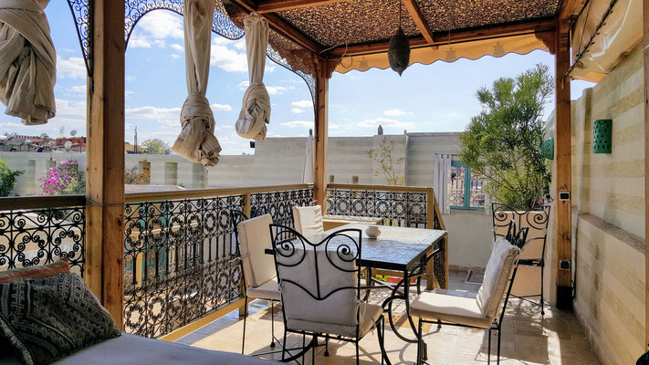 Ferienhaus Riad LakLak la Tradition Marrakesch 3