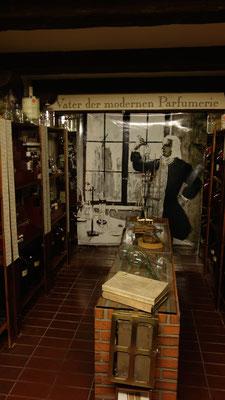 Nel museo i visitatori possono assaggiare tutti i buoni odori