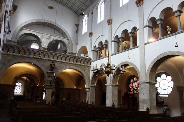 L'interiore romanico di St. Ursula