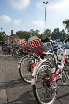Le bici della BAHN (compagnia dei treni)