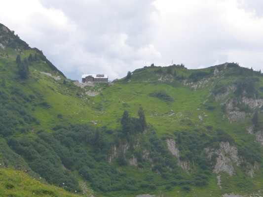 Die Freiburger Hütte