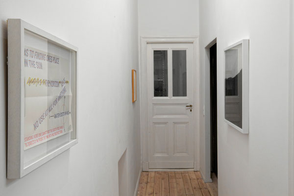 "installation view of ""Magma Works"", courtesy of Safn Berlin"