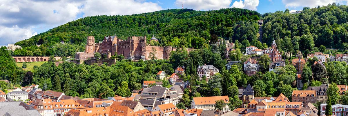 Panorama von der Heilig-Geist-Kirche.