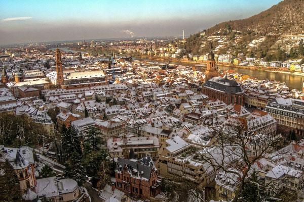 Winterliche Altstadt.