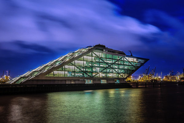 Hamburg. Dockland.