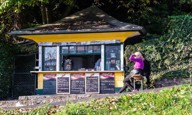 Kiosk am Philosophenweg.