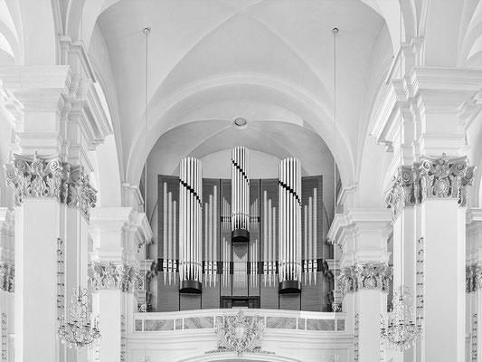 Jesuitenkirche. Neue Orgel.