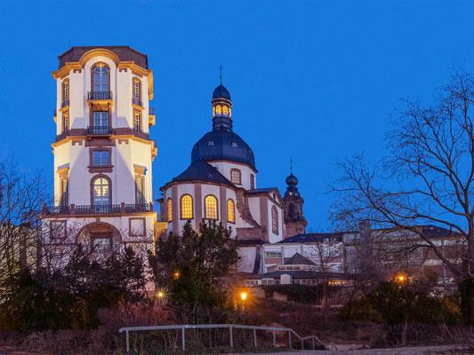 Mannheim - Jesuitenkirche mit Sternwarte