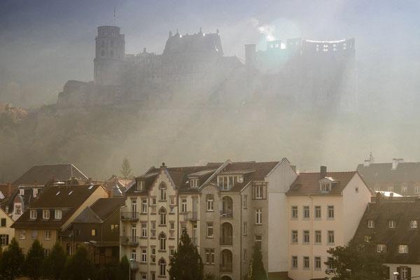 Morgenstimmung über der Altstadt.