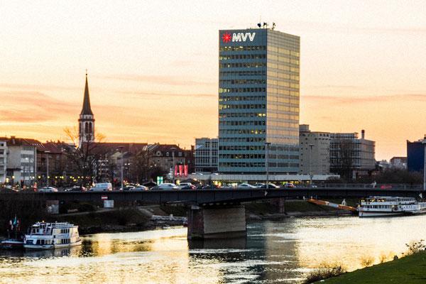 Mannheim - MVV-Hochhaus