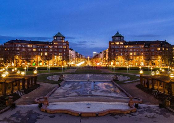 Mannheim - Blick in die Augustananlage