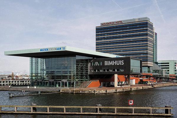Amsterdam. Muziekgebouw aan't Ij