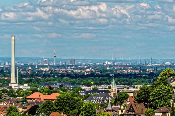 Blick über die Weststadt.