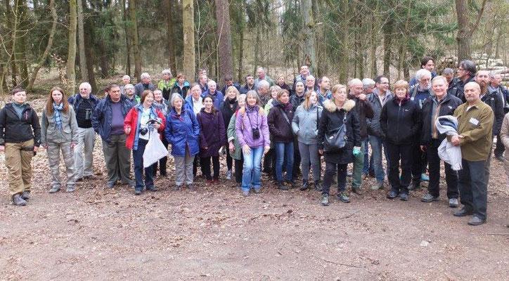 der Ausflug zum Abschluss: in die Buchen-Heide bei Stettin
