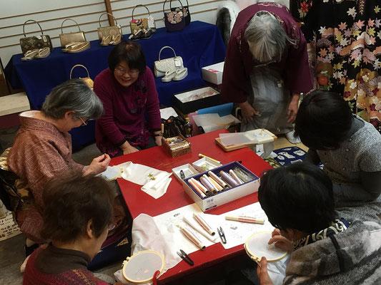 日本刺繍 若林和子先生