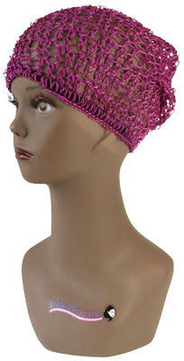 African Afri Hair Net purple