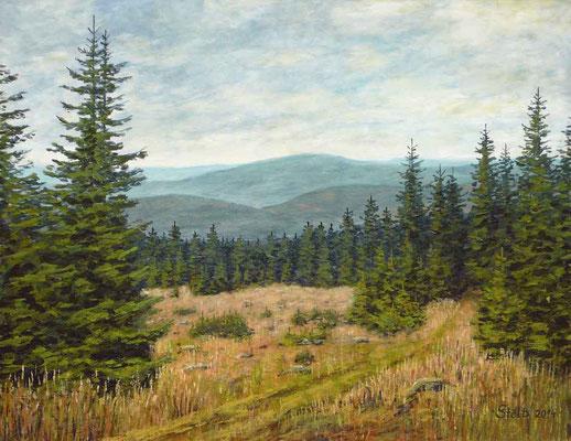 Spätsommer im Mittelgebirge, 52 x 68 cm, 430 €
