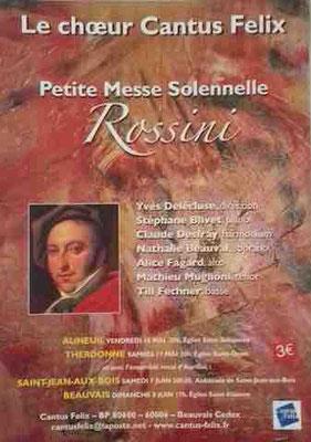 concert Cantus Felix Rossini