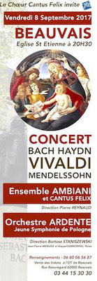 concert Cantus Felix église Saint Etienne
