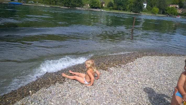 Badi Rhywiese in Langwiesen.