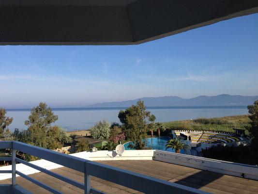 Aublick vom Hotel bei Ephesus
