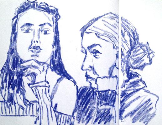Melia und Elise von Eva