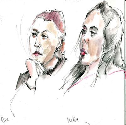 Elise und Melia von Rosmarie