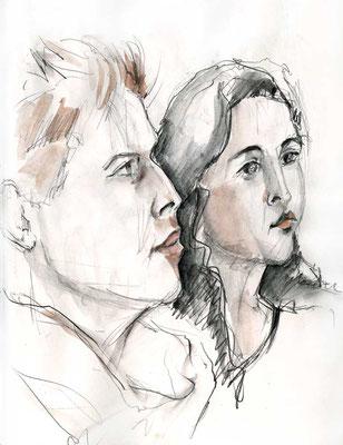 Till und Melanie von Rosemarie