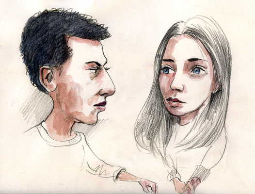 Naji und Shania von Martin