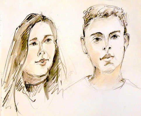 Naji und Shania von Rosemarie
