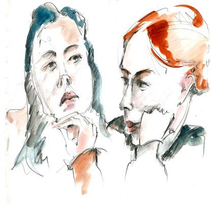 Melia und Elise von Rosmarie