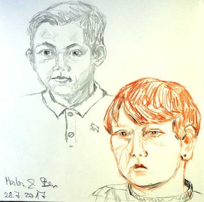 Ben und Marlon von Eva