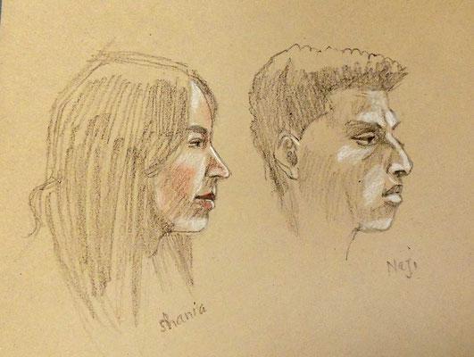 Naji und Shania von Keith