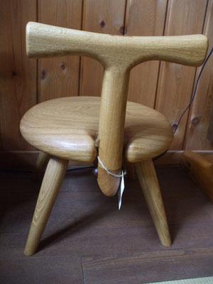 木の椅子 子供椅子 カブトムシ 永く愛用