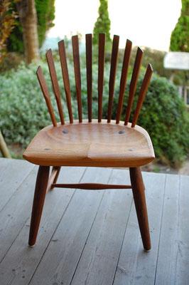 木の椅子 背もたれ 座り心地 良い