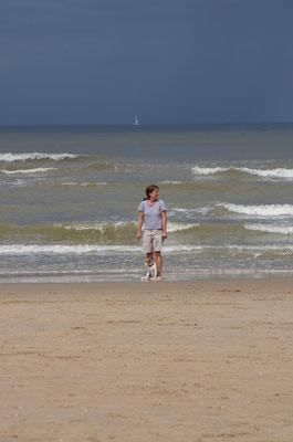 Tag am Meer (Besuch in Katwijk), 13.08.2017