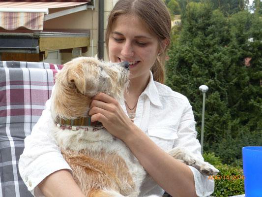 Julia & Flax genießen ♥