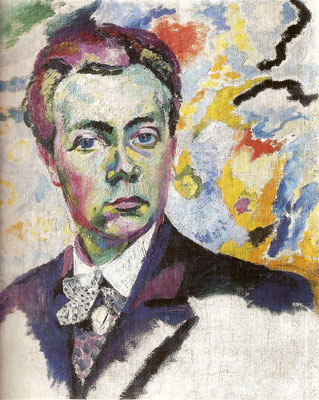 Robert Delaunay - Autoportrait - 1905/1906