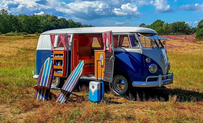 Volkswagen busje trouwen
