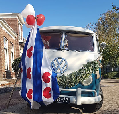 Trouwauto Friesland