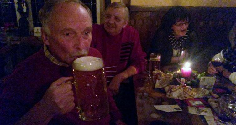 """Verein Wünschendorf an der Elster """"Weihnachtsfeier in der Destille Ronneburg"""""""