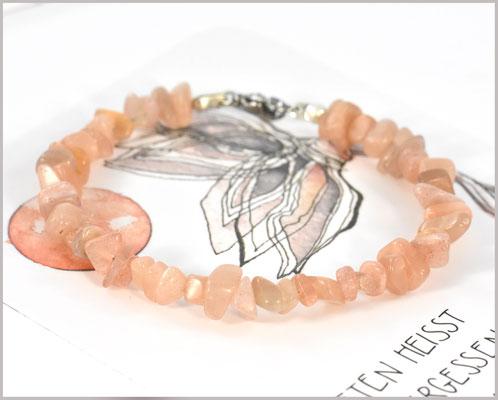 Sunstone / Sonnenstein Edelstein Armband