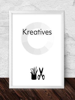 Kreatives - es wird auch gebastelt. Gerne für Sie.