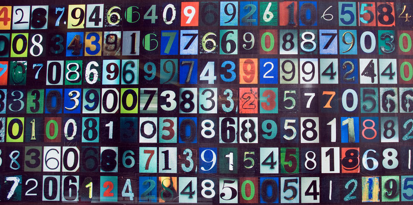 "flickr.com ""Colored Numbers Code"" by Dustin Liebenow (https://creativecommons.org/licenses/by-nd/2.0/legalcode; Modifications made: Cropped photo)"