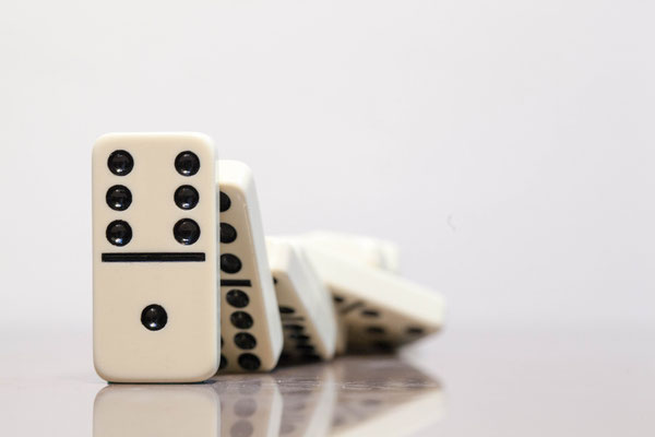 "flickr.com ""Domino"" by Jeffrey Pioquinto (license: https://creativecommons.org/licenses/by/2.0/legalcode;  Modifications made: Cropped photo)"