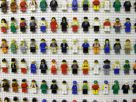 "flickr.com ""Lego People"" by Peter Dutton (license: https://creativecommons.org/licenses/by/2.0/legalcode; Modifications made: Cropped photo)"