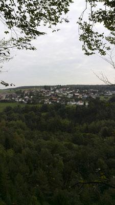 Ausblick oberhalb Steinbruch