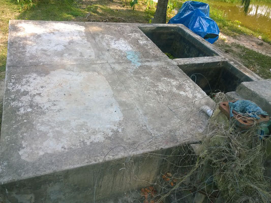 Abdeckung Sandfilter in Orabunia