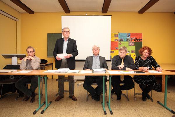 Hans-Joachim Michaelsens letzte Amtshandlung als regulärer Vorsitzender